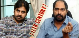 18th Century Backdrop For Pawan Kalyan - Krish Film