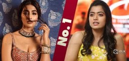 Who's Top, Rashmika or Pooja Hegde?