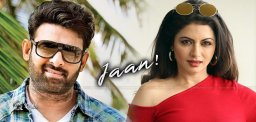 Actress Bhagyashree Roped In For Prabhas's Jaan