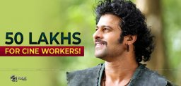 Prabhas Contributes 50 Lakhs For Corona Crisis Charity