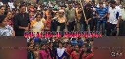 prakash-raj-did-swachch-bharat-at-a-village