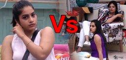 bigg-house-punarnavi-versus-sree-mukhi-himaja