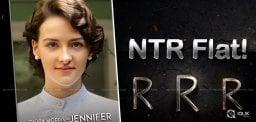 Official: Olivia Morris Oppsite NTR In RRR!