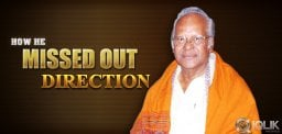 Raavi Kondala Rao - How he missed out on Direction?