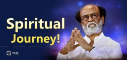 Superstar Rajini Leaves To Himalayas For Spiritual Trip