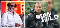Rajinikanth shoots For Man Vs Wild, A Popular Show