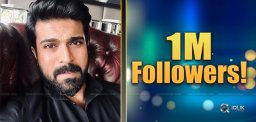 Charan Reaches 1M, With Just 23 Posts!