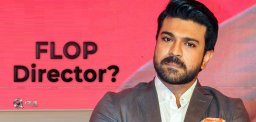 Charan's Next With Flop Director?