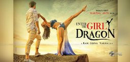 Stunning Poster Of Enter The Girl Dragon, RGV's Film In Style!