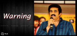 rao-ramesh-statutory-warning-for-brahmotsavam