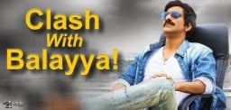 Mass Maharaja's Clash With Balayya!