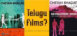 chetan-bhagat-novels-as-telugu-films-news