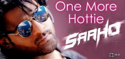 One More Bollywood Beauty For Saaho!