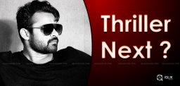 thriller-genre-for-sai-dharam-tej-next