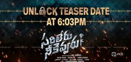 Sarileru Neekevvaru Teaser Release, Something Unique!