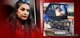 Shabana Azmi meets with accident, injured seriously