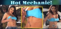 Sherlyn Chopra, Hottest Mechanic Ever!