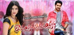 Shruti-Haasan-to-join-Ramayya-Vastavayya-unit
