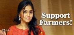 Singer-Smitha-Supports-Amaravati-Farmers