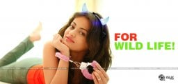 sneha-ullal-special-initiative-for-wild-life-prote