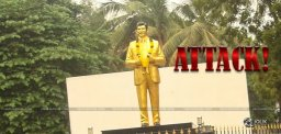 attack-on-sobhan-babu-statue-in-chennai