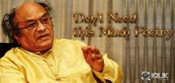 'Don't need this much Poetry' said Sr.NTR!!