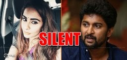 Sri Reddy Silent On Nani's Class