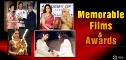 Sridevi's memorable films & awards list