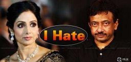 I Hate Sridevi: RGV