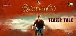 mahesh-babu-srimanthudu-teaser-talk-details