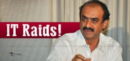 IT Raids On Noted Producer Suresh Babu