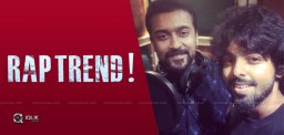 Actor Suriya turns rapper for his next film Soorarai Pottru
