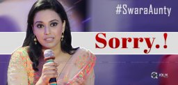 Swara Aunty Says Sorry, But!