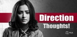 Bubbly Actress's Direction Plans!