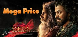 Sye Raa Satellite Rights Bought For A Ultimate Price