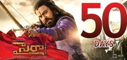 Sye Raa Completes 50 Days, But.!