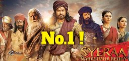 Sye-Raa-Number-One-Film-In-2019-But
