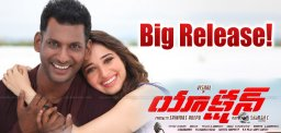 Vishal Expecting Big Action In Telugu