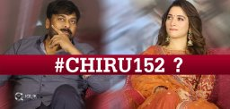 Tamannah's Special Role In #Chiru152?