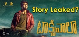 vijay-deverakonda-taxiwala-movie-story-leak
