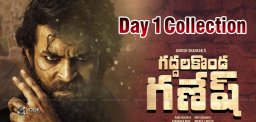 Varun Tej Scores 'Big' On Day One With Gaddalakonda Ganesh