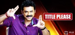 title-hunt-for-venkatesh-film