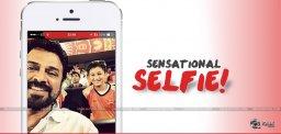 venkatesh-selfie-with-goutham-krishna-details