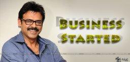 venkatesh-bangaru-babu-movie-business-started