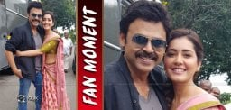 Picture Perfect: Andala Raashi With Venky Mama