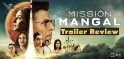 Trailer Talk Of Akshay Kumar's Mission Mangal