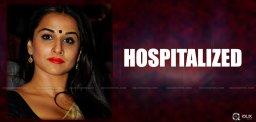 actress-vidya-balan-hospitalized