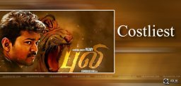 actor-vijay-puli-movie-costliest-song-details