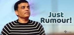 Dil Raju's Second Marriage, Just a Rumor!