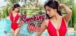 Pic Talk: Red Hot Rathalu In Bikini